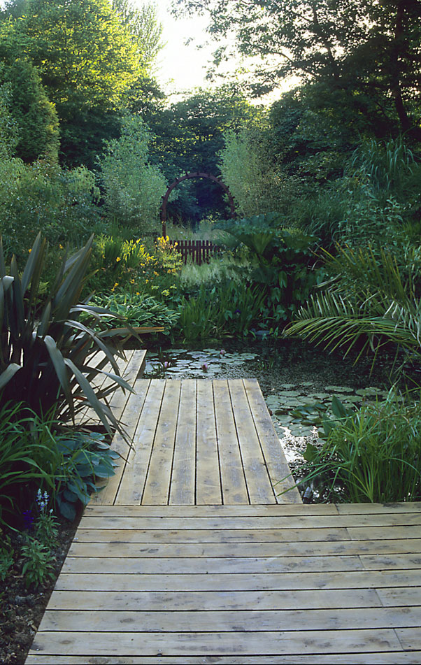 Acres Wild Lush and Luxuriant Deck and Pond