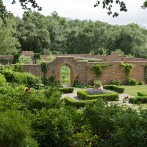 Acres Wild Traditional Terraces Walled Garden