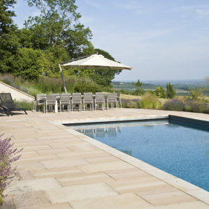 Acres Wild Hillside Haven Pool Edge