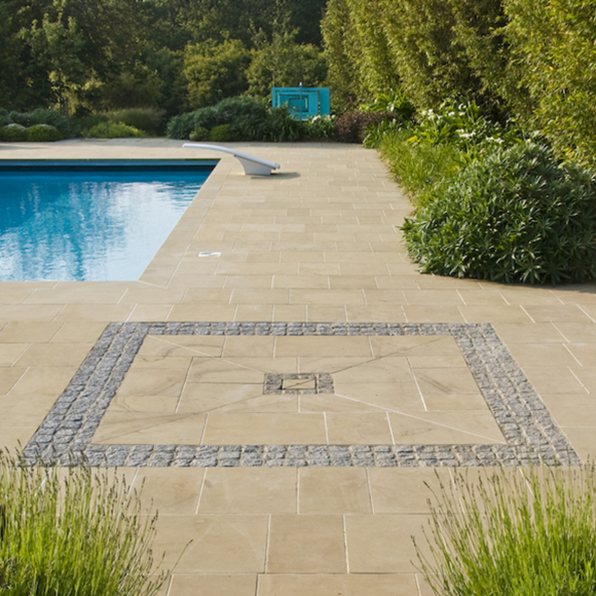 Acres Wild Guernsey Garden Paving Design