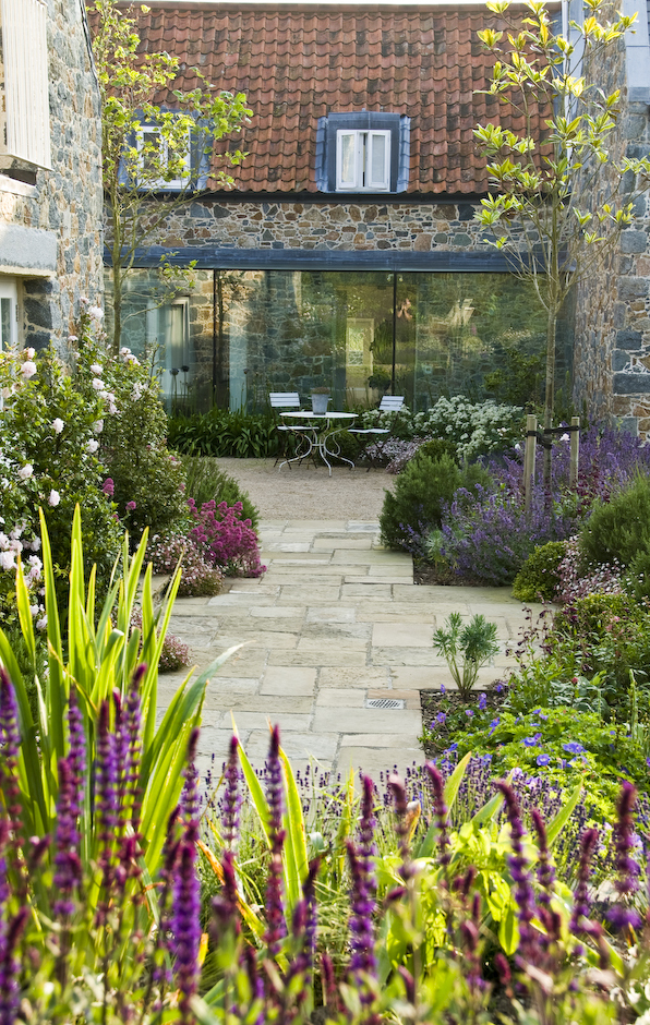 Acres Wild Guernsey Garden Paving