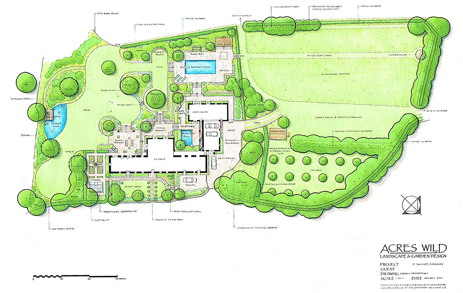 Acres Wild Guernsey Garden Plan