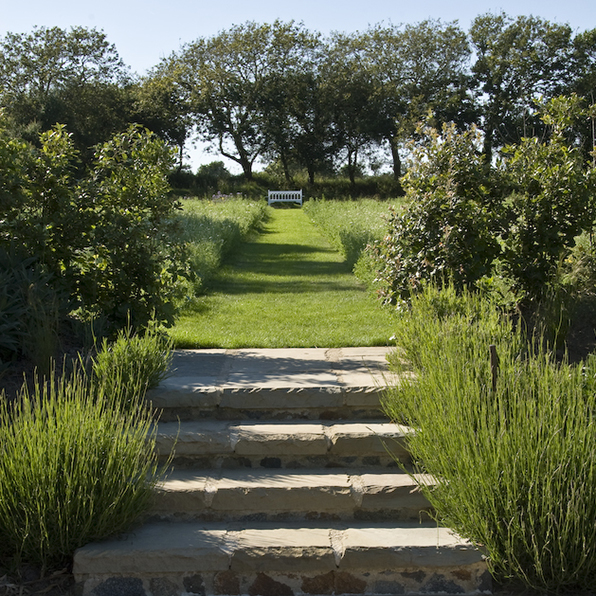 Acres Wild Guernsey Garden Steps