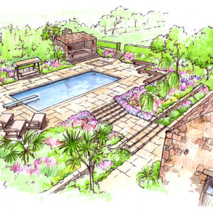 Acres Wild Guernsey Garden Swimming pool