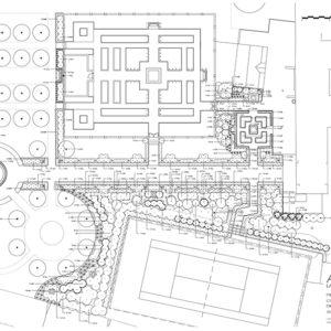 hughes-morgan-tennis-court-planting-plan Mill Waters, Still Waters
