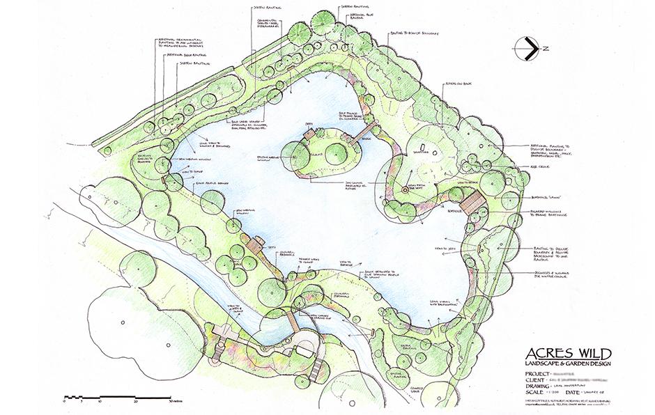 lake-masterplan Mill Waters, Still Waters