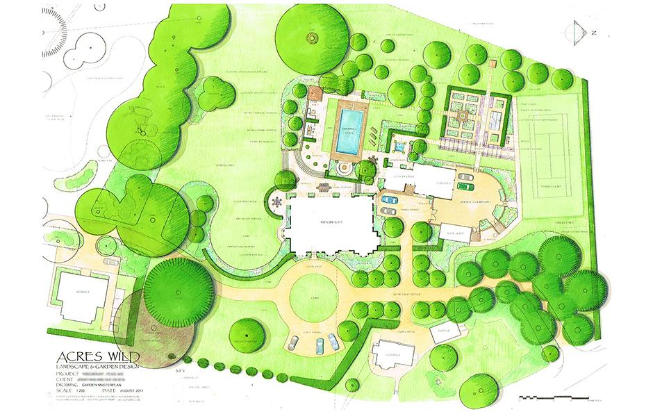 colour-masterplan Surrey Serene