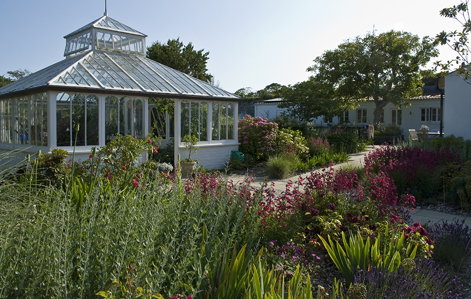 Acres Wild Peach House Beach House Guernsey Glasshouse