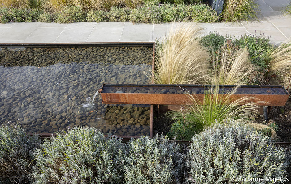 Acres Wild Corten Pool and Lavender