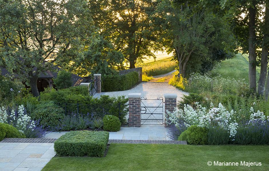 Acres Wild Metal gate in garden