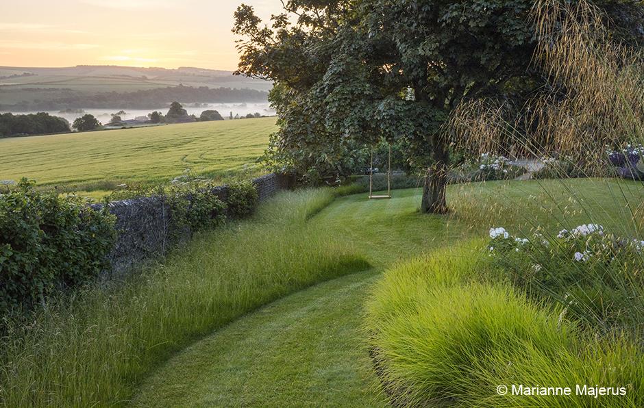 Acres Wild Mown grass path