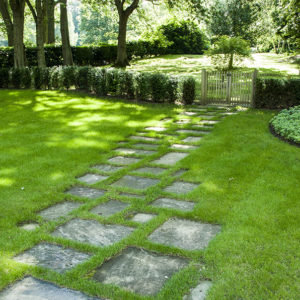 Acres Wild Paving in Grass
