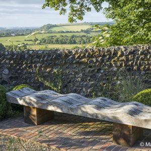 Acres Wild Wavy timber bench