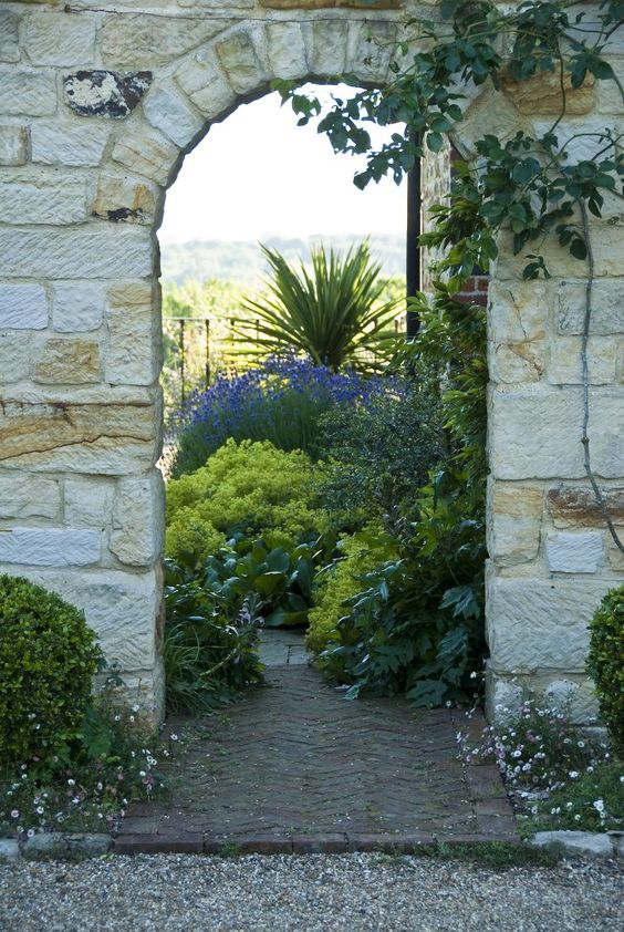 Acres Wild Traditional Terraces Archway