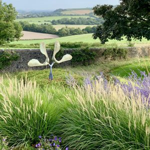 Acres Wild Isolated Idyll Sculpture in Planting