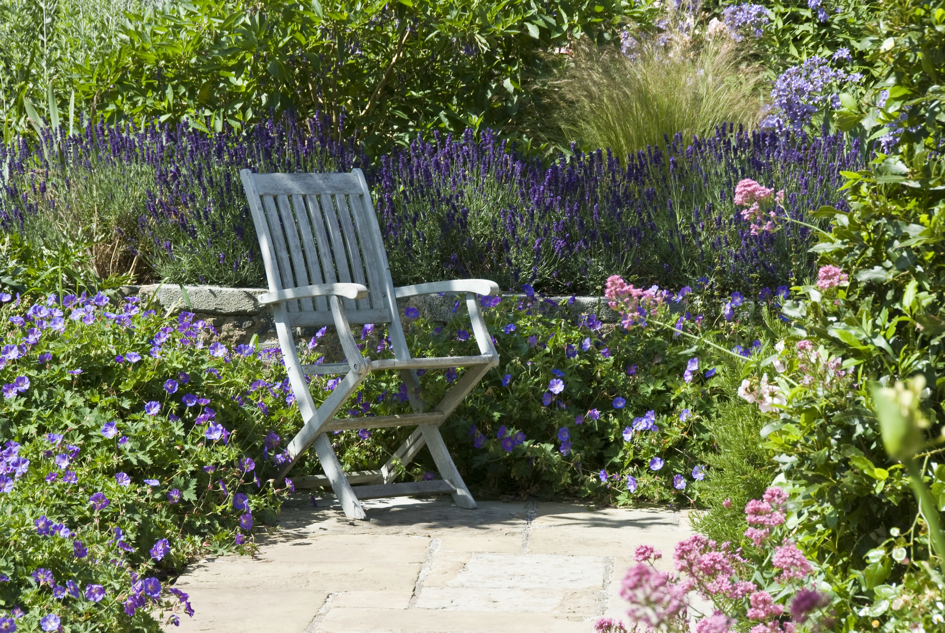 Acres Wild Guernsey Garden Chair in Planting