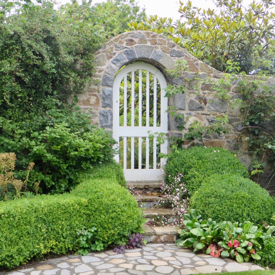 Acres Wild Guernsey Garden Gate Entrance