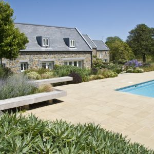 Acres Wild Guernsey Garden Pool Area