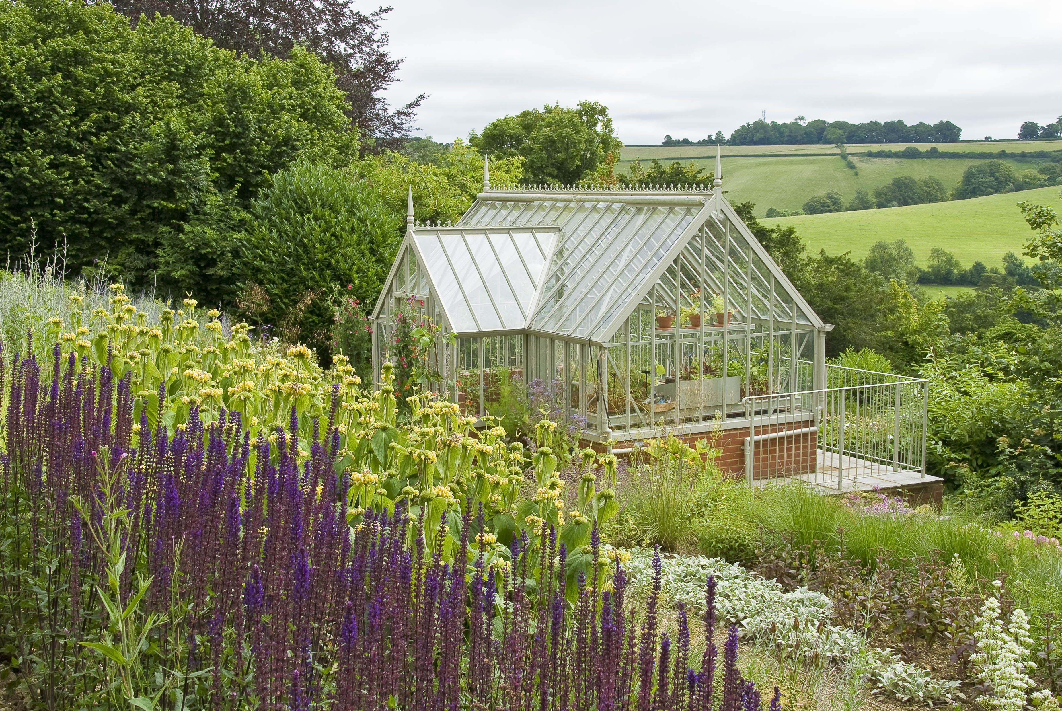 Acres Wild Steeply Sloping Greenhouse