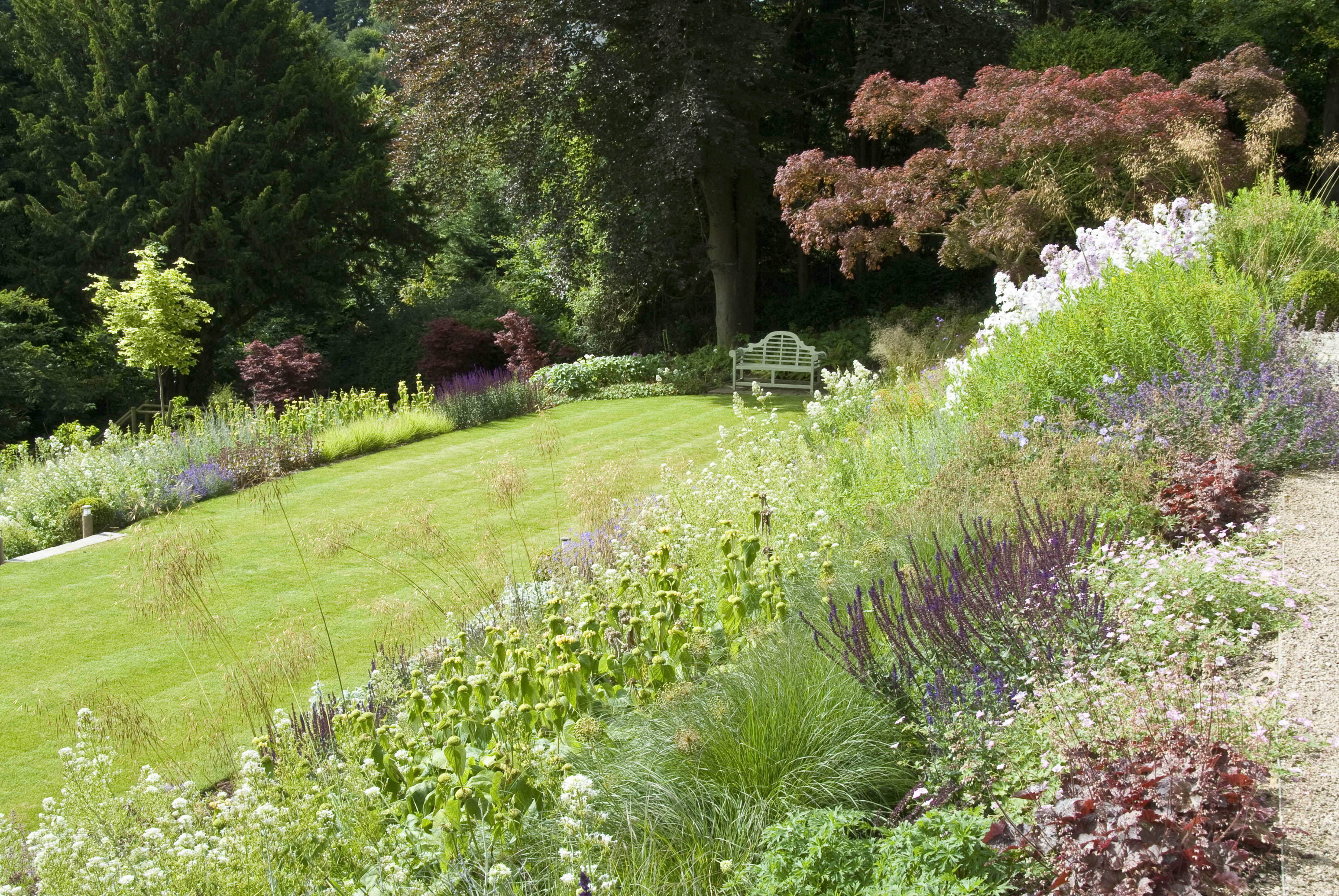Acres Wild Steeply Sloping Mixed Planting