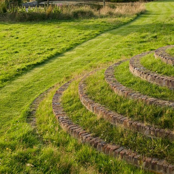 Acres Wild Traditional Terraces Lawn Steps
